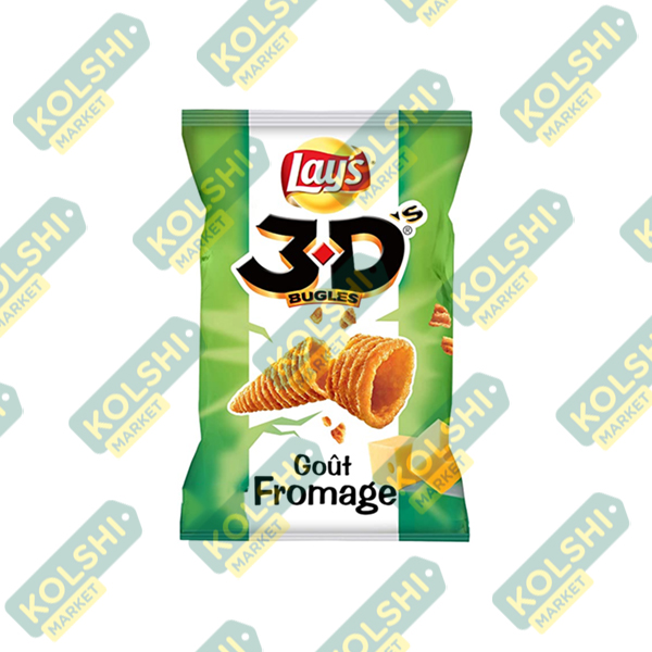 Lay's 3D Bugles Goût Fromage
