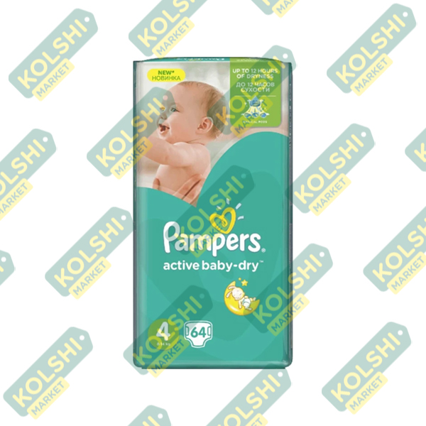 Couche Pampers N4 64P
