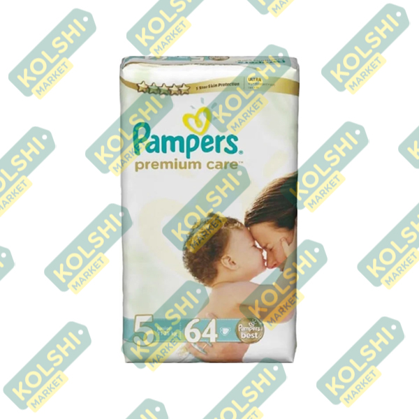 Couche Pampers Premium N5 64P