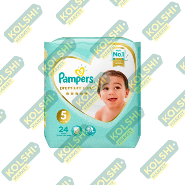 Couche Pampers Premium N5 24P